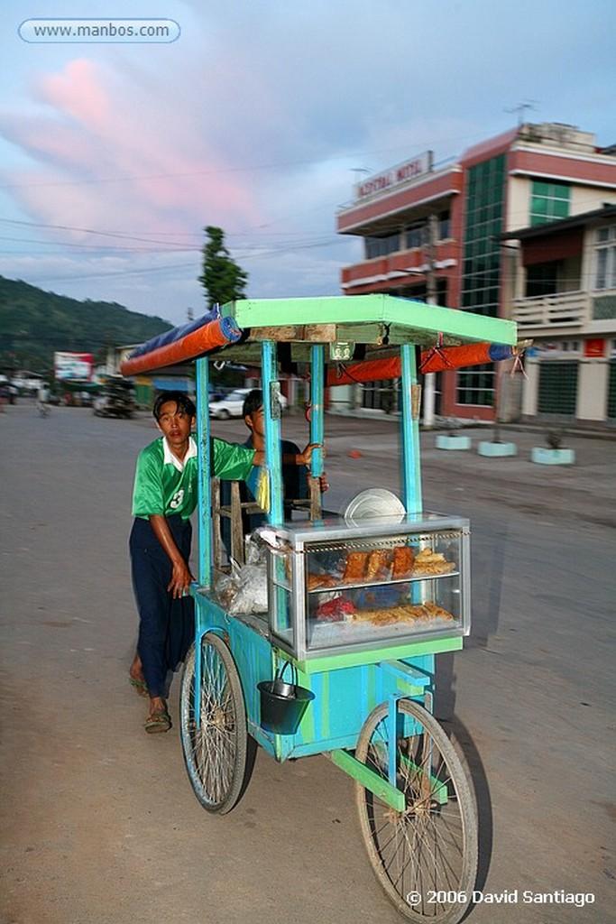 Kalaw Mercado en Kalaw Myanmar Kalaw