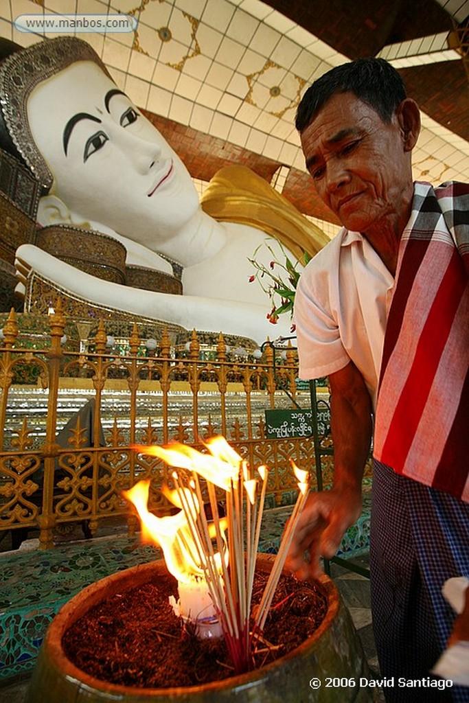 Bago Mahazedi Paya en Bago Myanmar Bago