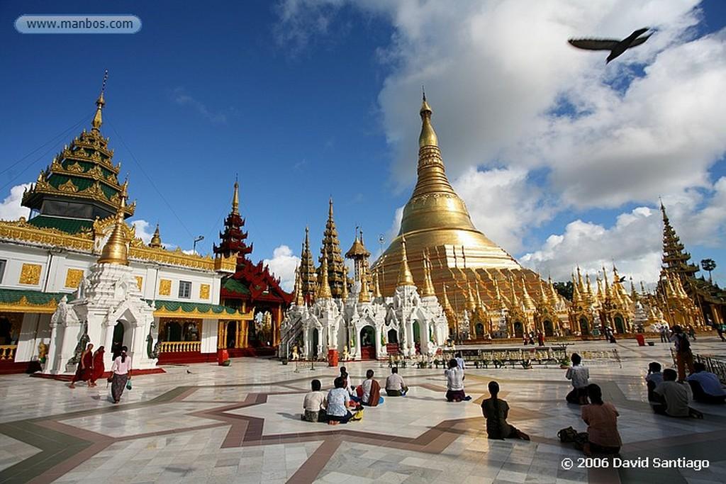 Yangon Sule Paya en yangon Myanmar Yangon