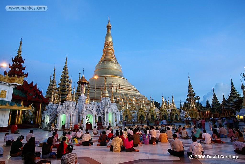 Yangon Shwedagon en yangon Myanmar Yangon