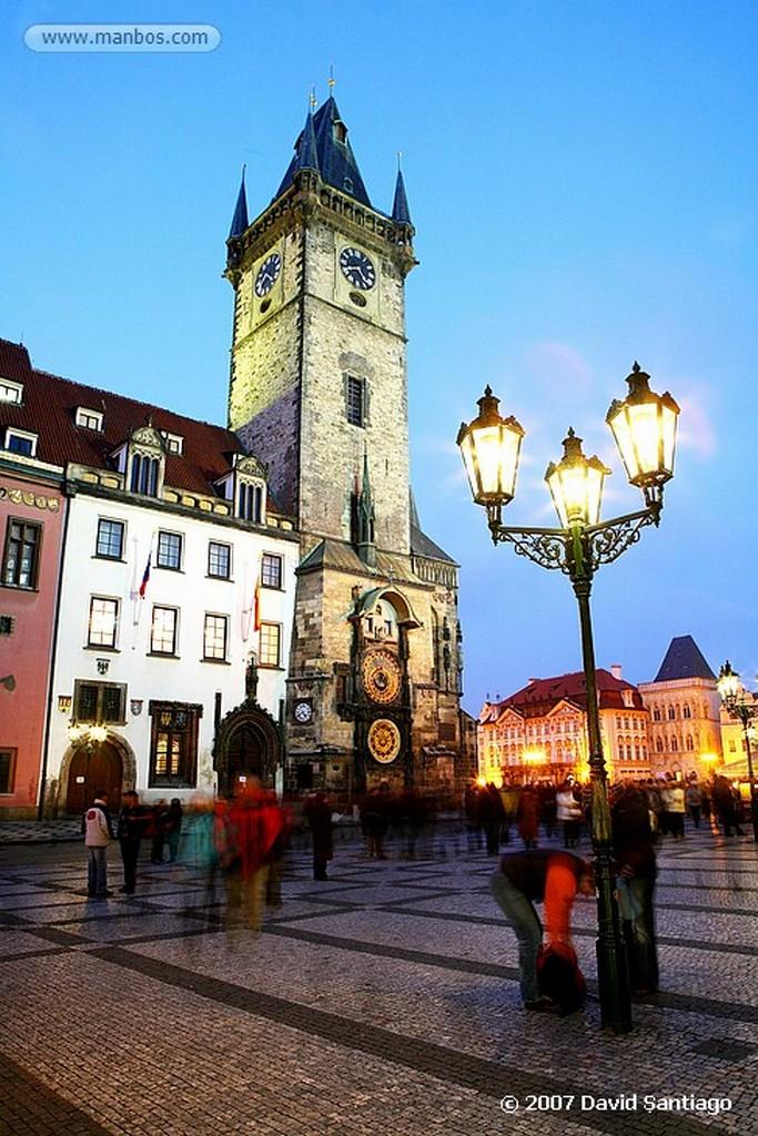 Praga Ayuntamiento de la Ciudad Vieja Praga
