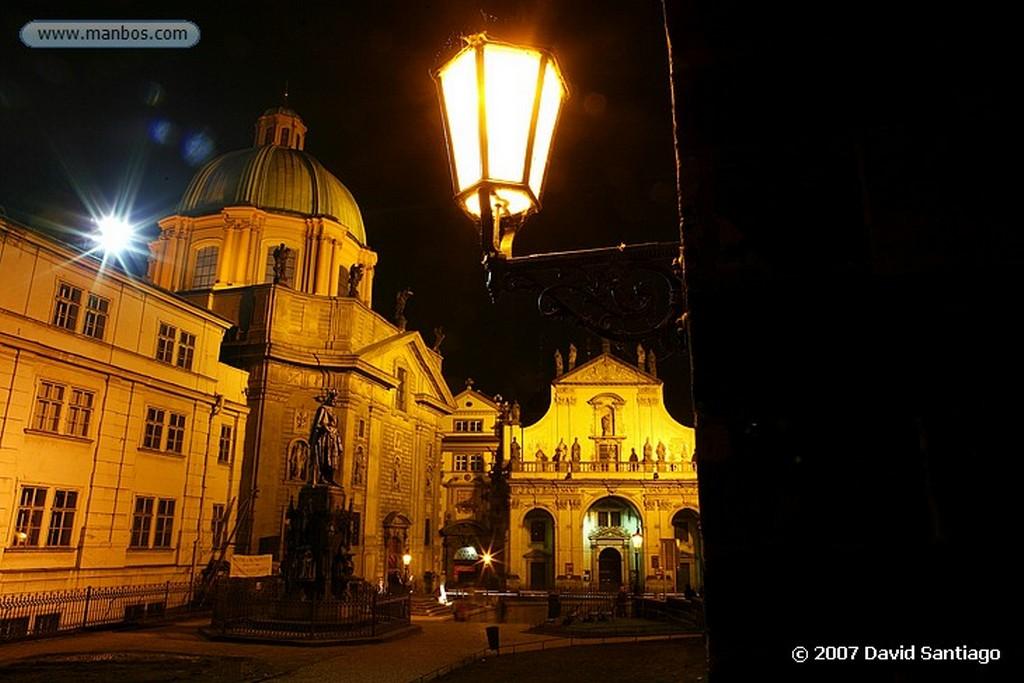 Praga Iglesia de la Vigen de Tyn Praga