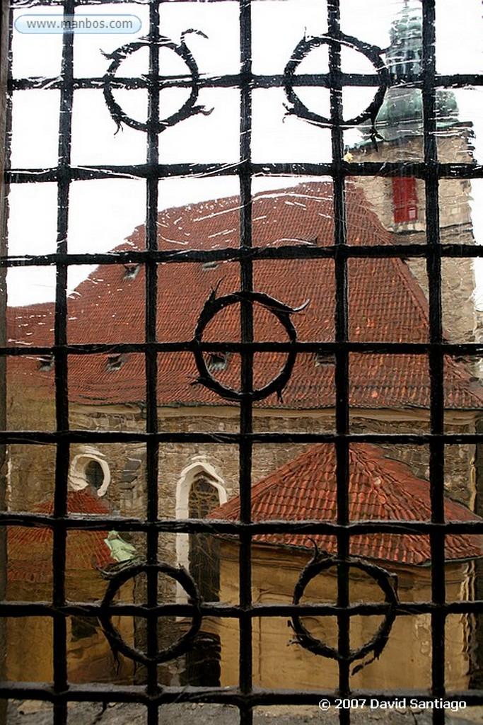 Praga Iglesia de San Nicolas Praga