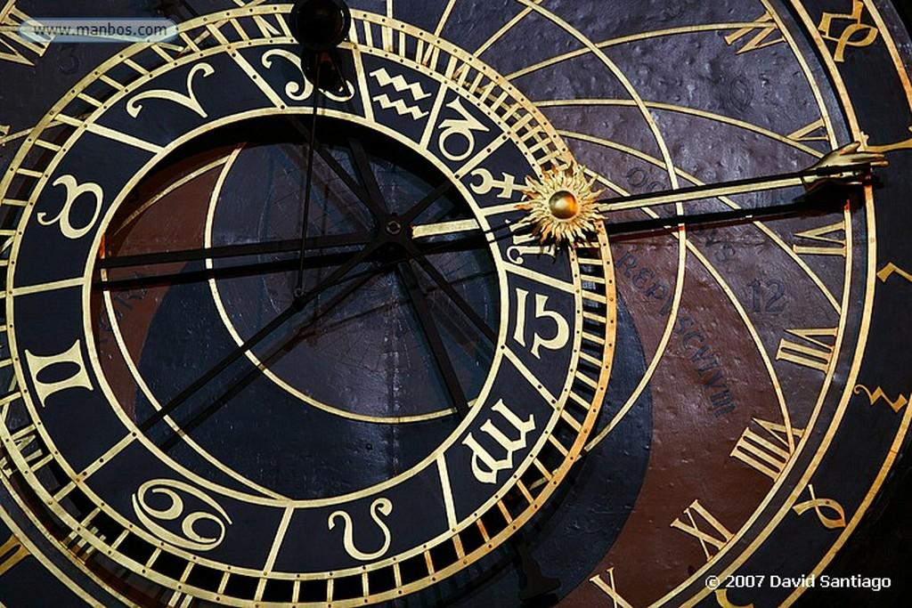Praga Reloj Astronomico Ayuntamiento de la Ciudad Vieja Praga