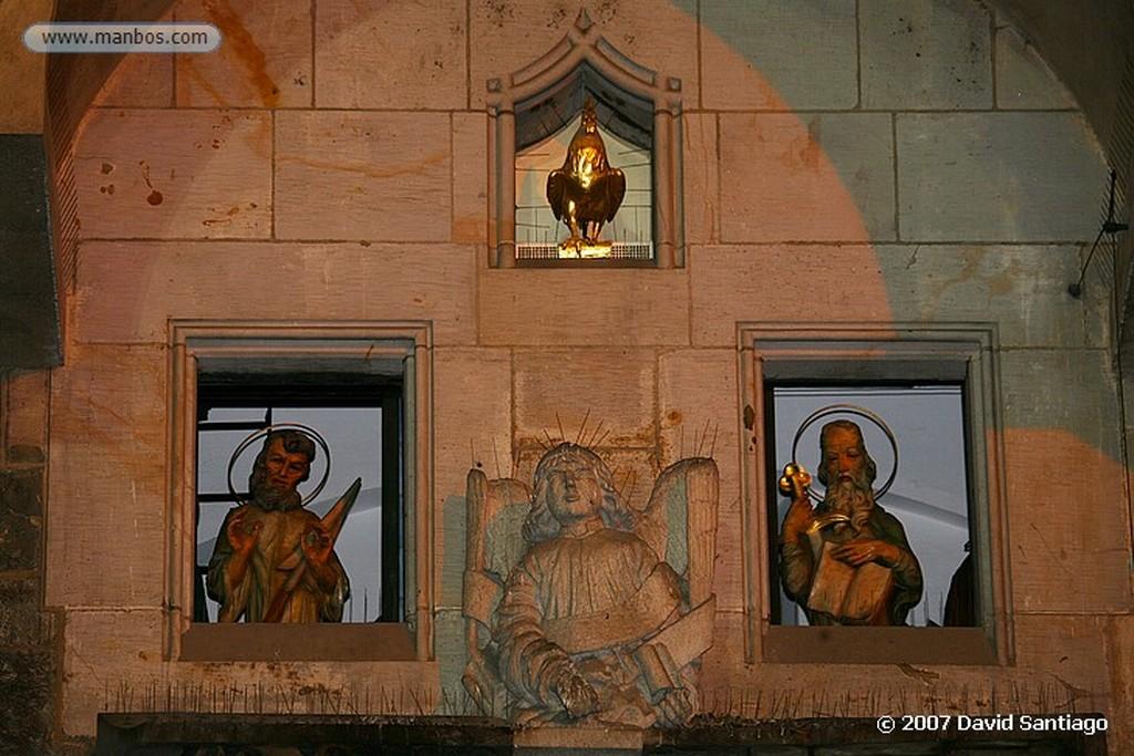 Praga Santa Barbara, Margarita e Isabel en el Puente Carlos Praga