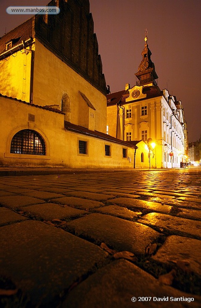 Praga Sinagoga Jubilar Praga
