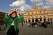 Plaza Mayor de Salamanca, Salamanca, España