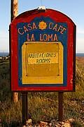 Foto de Cabo de Gata, España - CARTEL INFORMATIVO