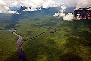 Rio Carrao y Rio Churun, Parque Nacional Canaima, Venezuela