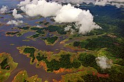 Embalse de Guri, Parque Nacional Canaima, Venezuela