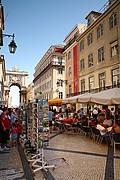Arco de Rua Augusta, Lisboa, Portugal
