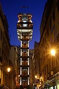 Ascensor de Santa Justa, Lisboa, Portugal