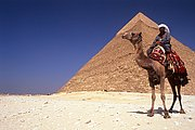 Piramide de Kefren, Giza, Egipto