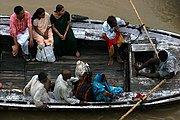 Rio Ganges, Varanasi, India