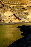 La laguna de los ciclos, Lanzarote, España
