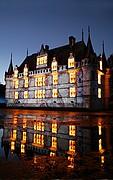 Castillo de Azay le Rideau, Valle del Loira, Francia