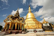 Shwemawdaw Paya, Bago, Myanmar