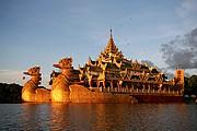 Lago Kandgawgyi, Yangon, Myanmar