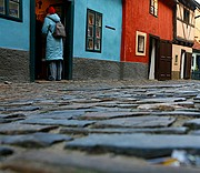 Photo of Prague, Golden Lane (Zlata Ulicka), Czech Republic - Callejuela del Oro Castillo