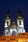 Iglesia de la Virgen de Tyn, Praga, Republica Checa