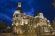 Camera Canon EOS 40D Palacio Consistorial. (Vista nocturna) Gonzalo Martínez Madrid Gallery CARTAGENA Photo: 17394