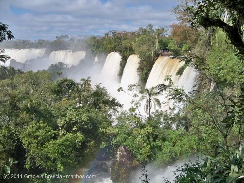 Iguazu desbordante Misiones