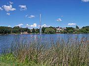 Foto de Tandil, Lago del Fuerte, Argentina - Esplendido lago