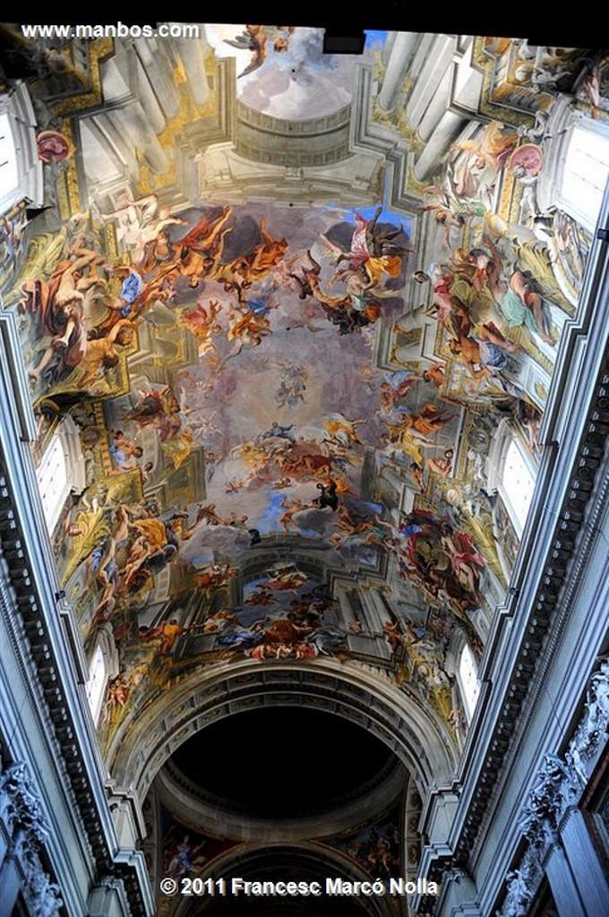 Roma  Iglesia San Ignacio  Roma