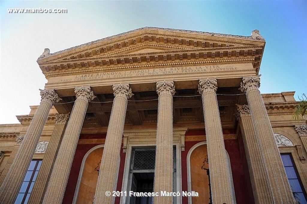 Palermo  Teatro Massimo  Sicilia