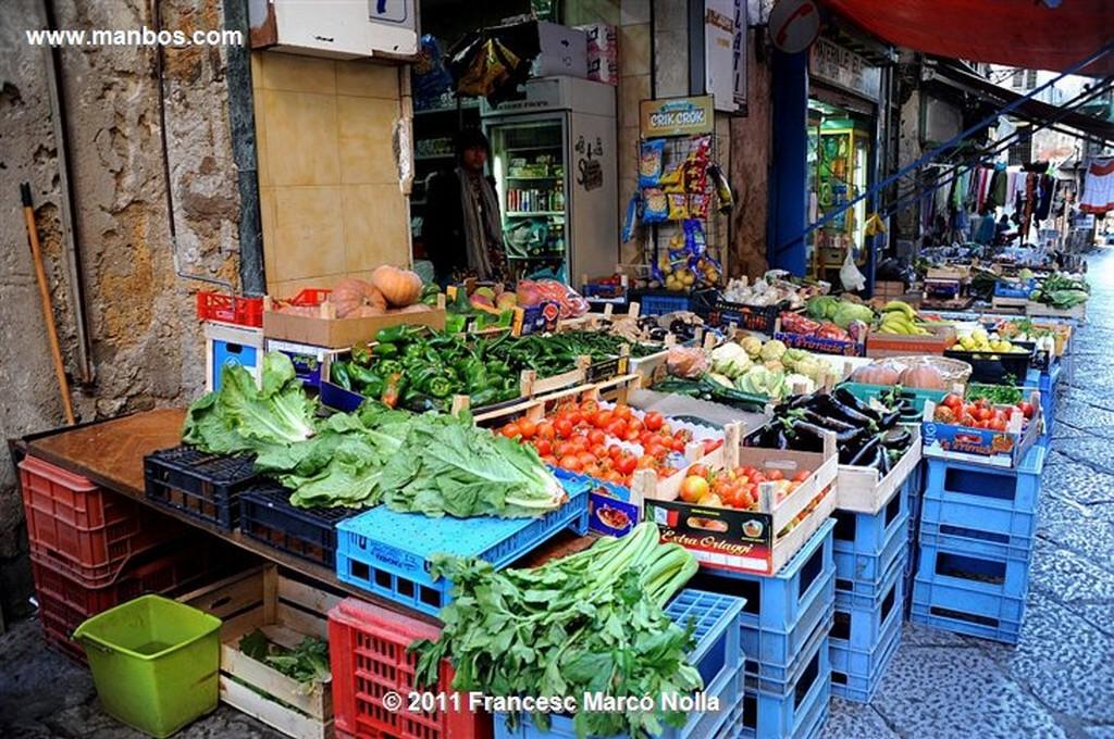 Palermo  Mercado Di Capo  Sicilia