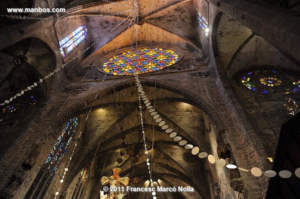 Palma de Mallorca  Catedral  obra Miquel Barcelo  Palma de Mallorca