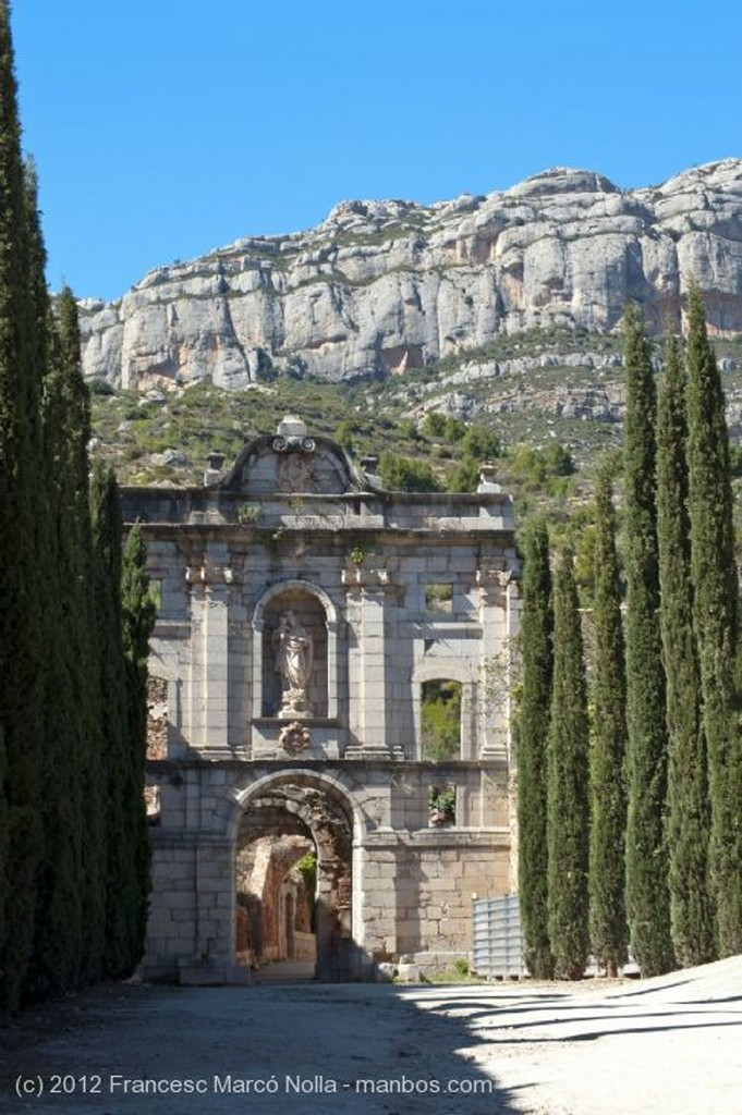 El Priorato Arcos de la Porteria Siglo XVII Tarragona