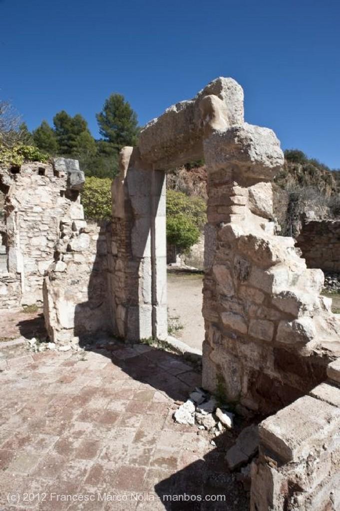 El Priorato Restos Primer Claustro Siglo XVII Tarragona