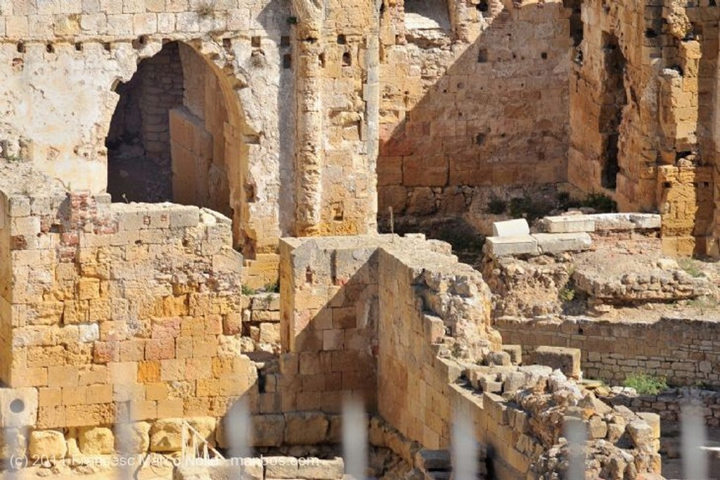 Tarragona Excavaciones Anfiteatro Romano Tarragona