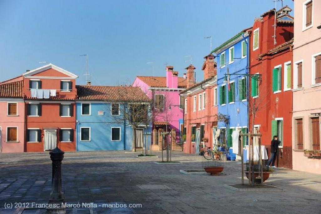 Burano De todos los Colores Venecia