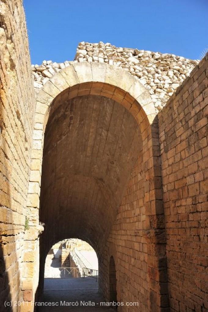 Tarragona Graderia Anfiteatro Romano Tarragona