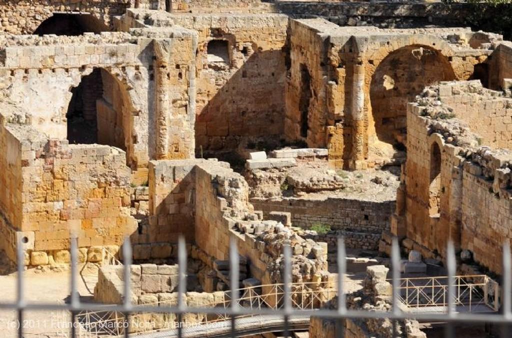 Tarragona Acceso Arena Anfiteatro Tarragona