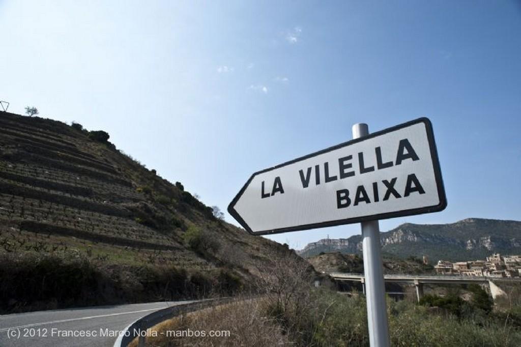 El Priorato Panoramica La Vilella Alta Tarragona