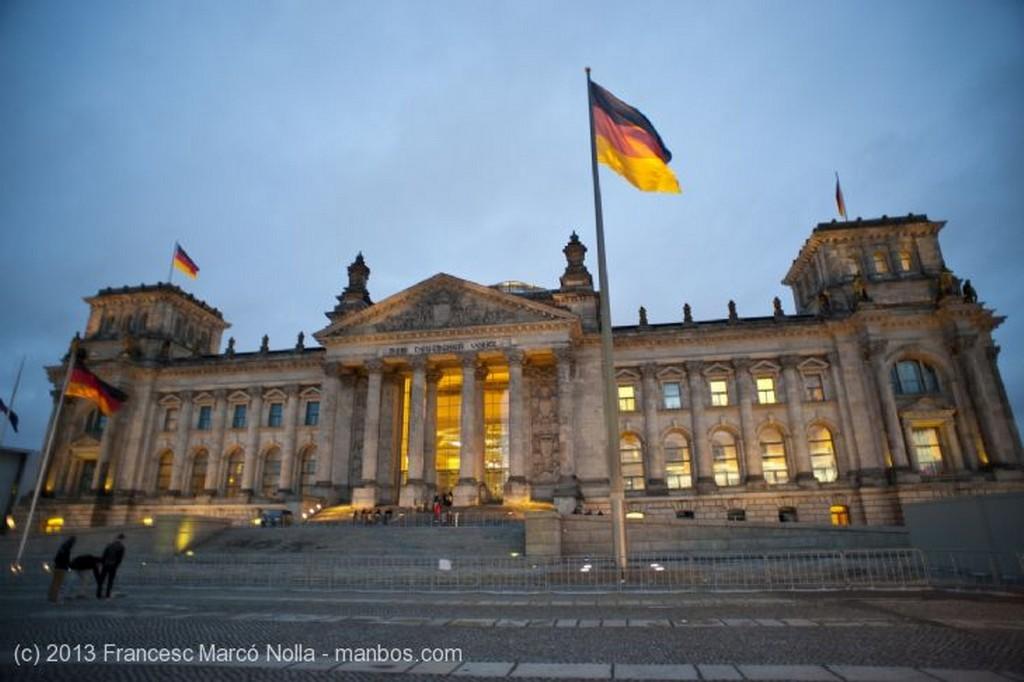 Berlin El Bundestag Berlin