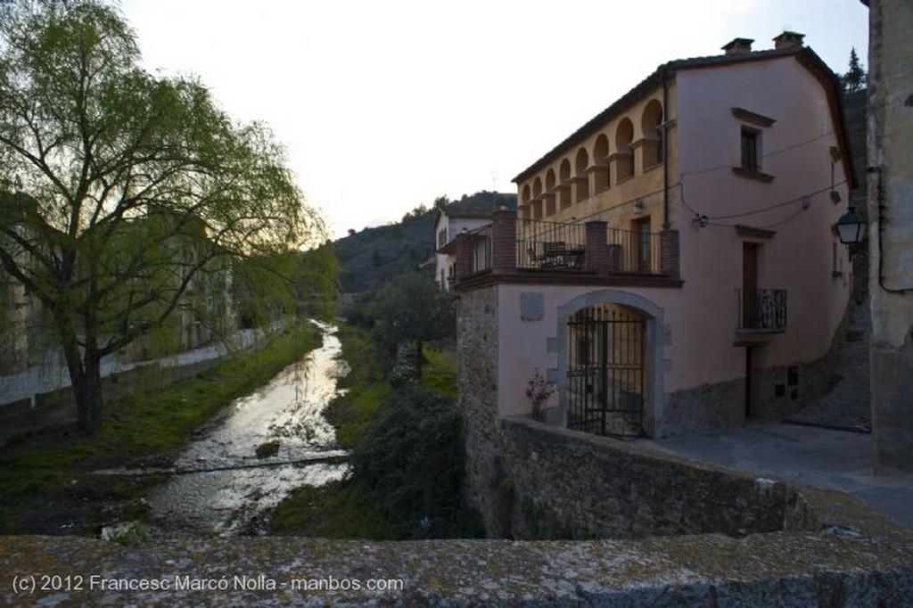 El Priorato Puente Sobre el Rio Cortiella Tarragona