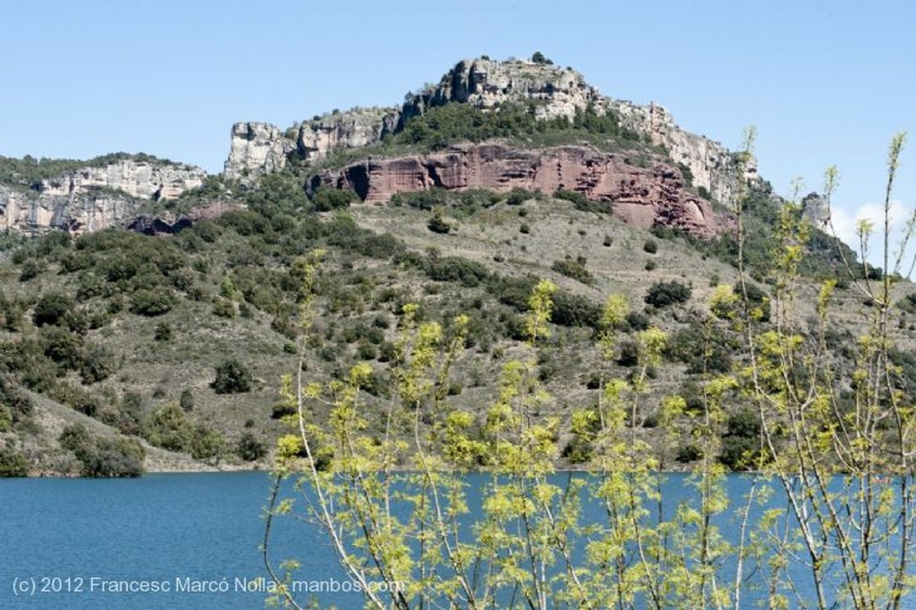 El Priorato Pantano de Siurana Tarragona