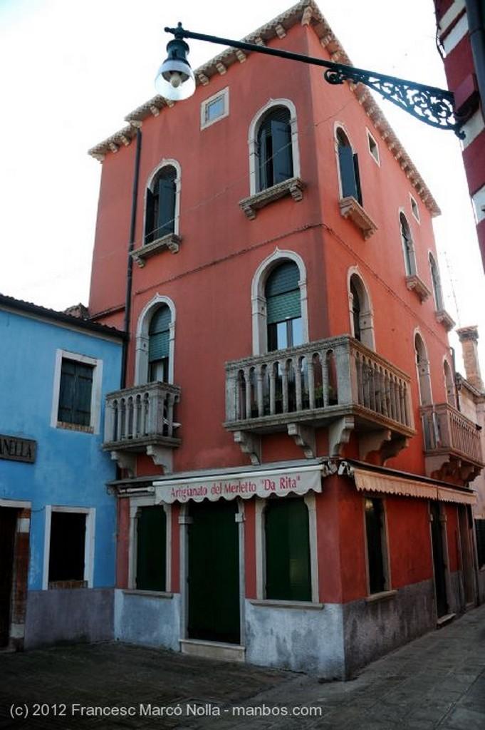 Burano Tipico Restaurante de Pescado Venecia