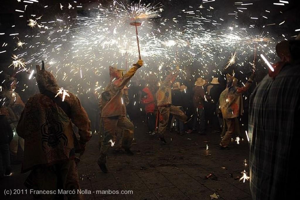 Cambrils Nit del Foc Tarragona