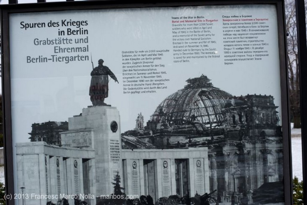 Berlin Monumento Soldado Sovietico Berlin
