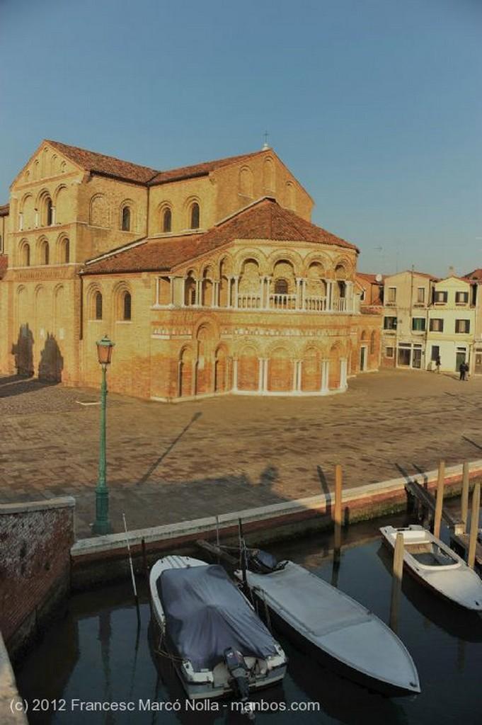 Murano Puente Sobre el Canal Venecia