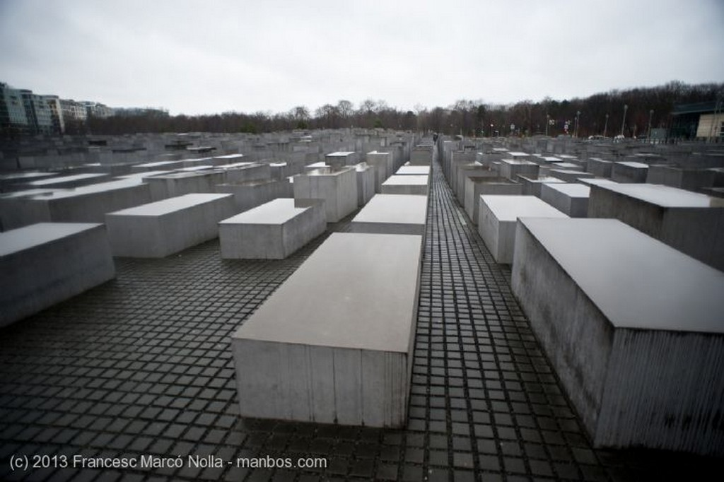 Berlin Memorial del Holocausto Berlin