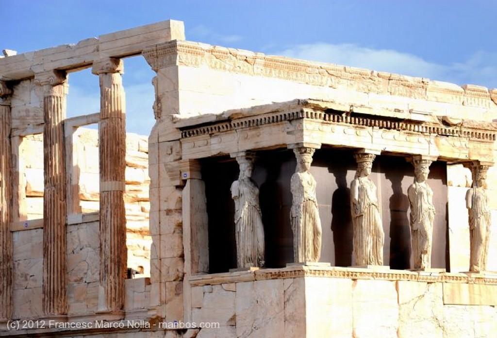 Atenas Templo de Atenea Atica