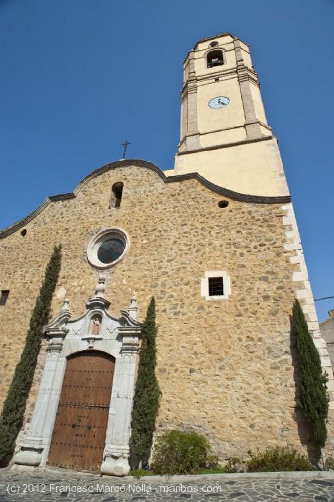 El Priorato Fachada de la Iglesia Tarragona