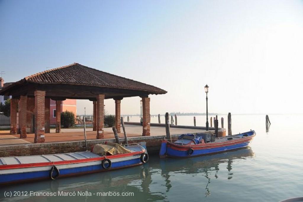 Burano Campanario Inclinado Venecia