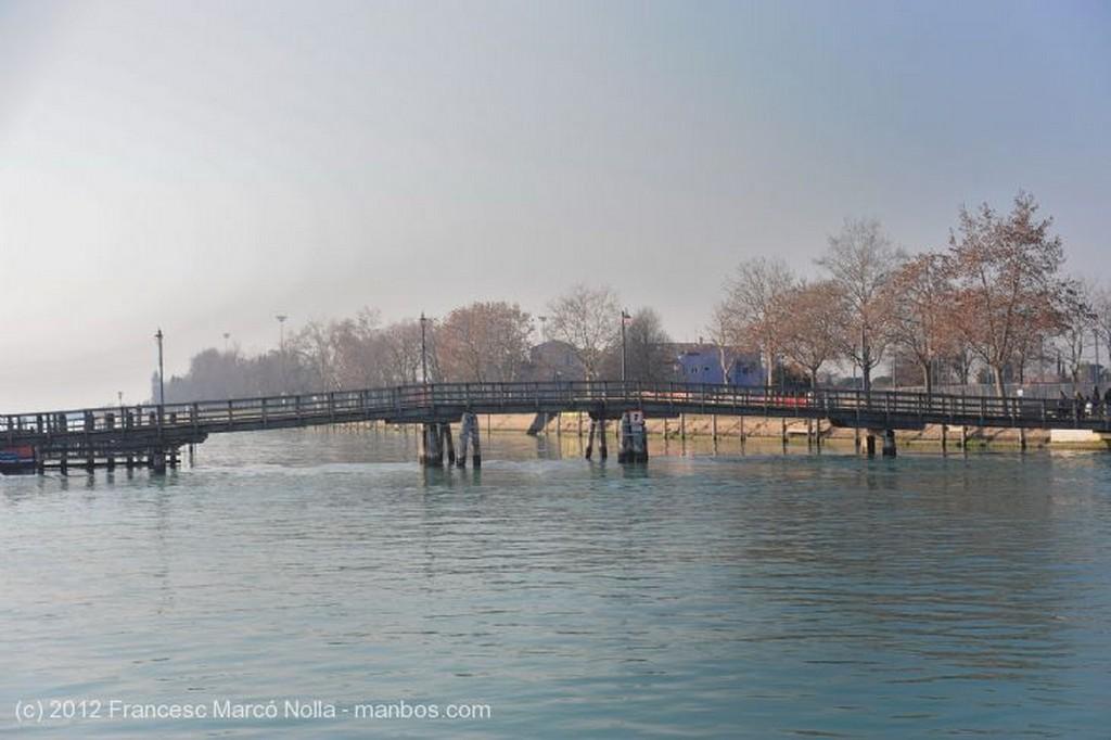 Burano La Laguna en Calma Venecia